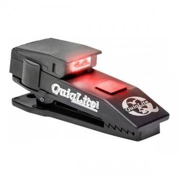 Lampe mains-libres QuiqLitePro blanc/rouge LED - 10 Lumens