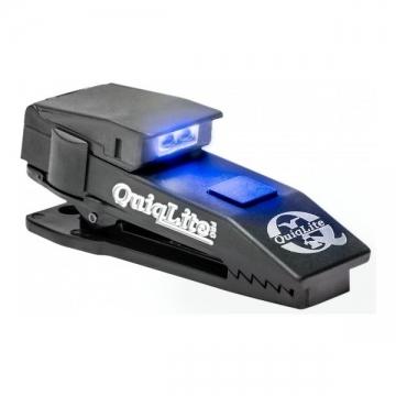 Lampe mains-libres QuiqLitePro blanc/bleu LED - 10 Lumens