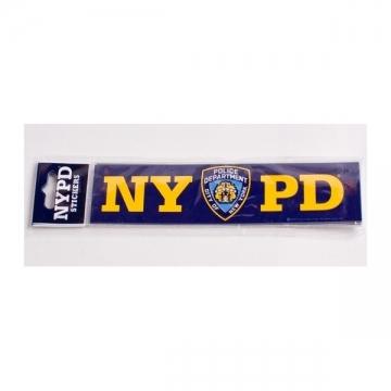 STICKERS NYPD PETIT MODELE