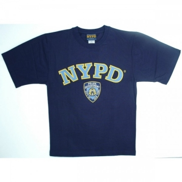 TEE-SHIRT NYPD NAVY - CIEL