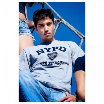 TEE-SHIRT NYPD GRIS