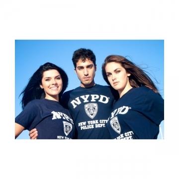 TEE-SHIRT NYPD NAVY