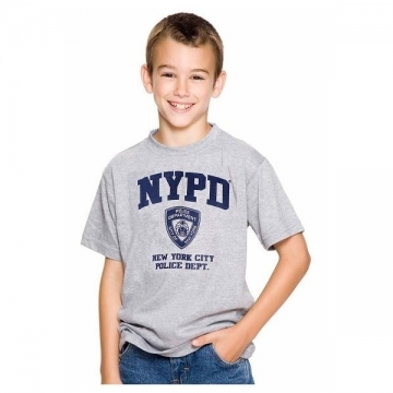 TEE-SHIRT ENFANT NYPD GRIS