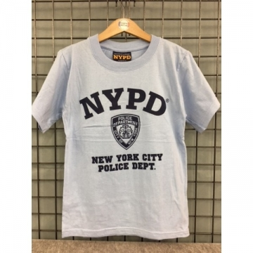 TEE-SHIRT KIDS BLEU CIEL NYPD