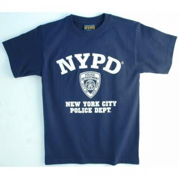 TEE SHIRT ENFANT NYPD NAVY
