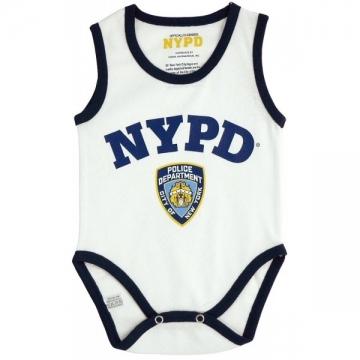 DEBARDEUR NYPD WHITE BI-COLOR