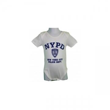 BODY MANCHE COURTE NYPD WHITE