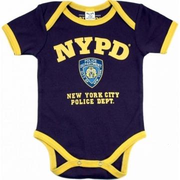 BODY MANCHE COURTE NYPD NAVY BI-COLOR
