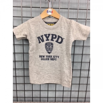 TEE-SHIRT BB NYPD GRIS-MARINE