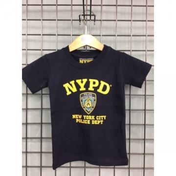 TEE-SHIRT BB NYPD NAVY - JAUNE