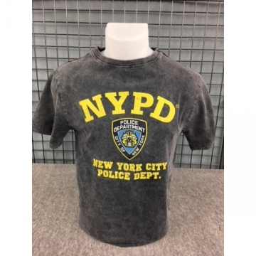 TEE-SHIRT NYPD GRIS DELAVE