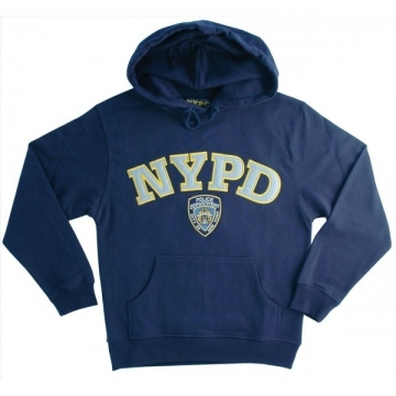 SWEAT CAPUCHE BRODE NYPD NAVY