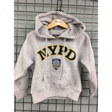 SWEAT CAPUCHE KIDS NYPD BRODE