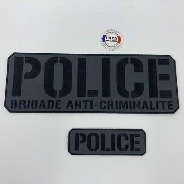 PACK BANDES POLICE BAC BASSE VISIBILITE