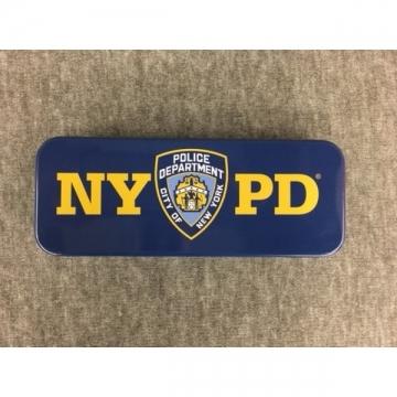 BOITE METAL STYLOS NYPD