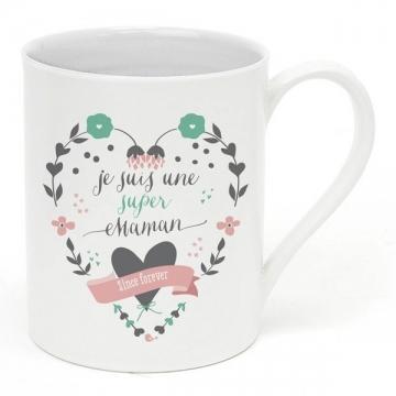 Mug Céramique Super Maman