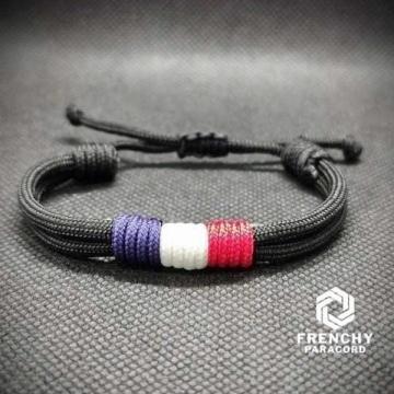 Bracelet Patriote petit modèle Noir v2