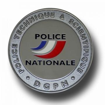 MEDAILLE POLICE TECHNIQUE ET SCIENTIFIQUE