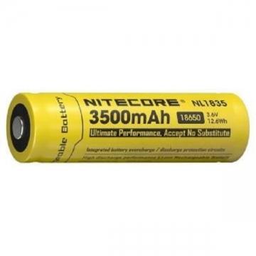 Accus Li-ion 18650 - 3500mAh - Nitecore
