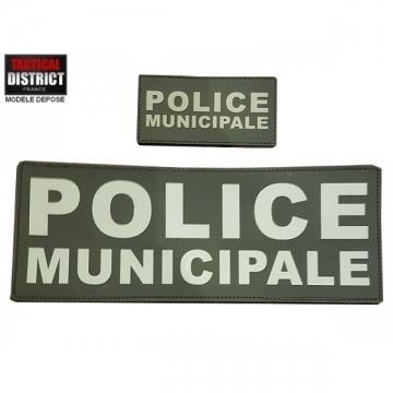 Packs bande Police Municipale PVC BV