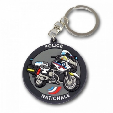 Porte clés Moto Police Nationale