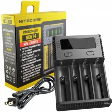 Intellicharger 4 batteries écran LCD
